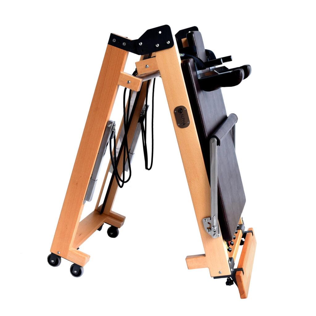 wooden folding pilates reformer_4.